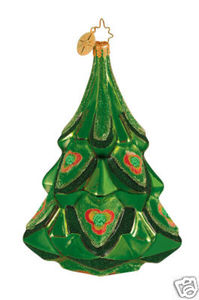 RADKO 1014703 EMERALD EVERGREEN - TREE - RETIRED ORNAMENT (G4)