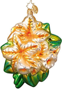 RADKO 1010260 TROPICAL SPLENDER - ORANGE FLOWER - RETIRED ORNAMENT (EE1)