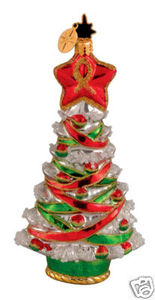 RADKO 1014009 PROUD TANNENBAUM - VETERAN'S CHARITY ORNAMENT - RETIRED (GG3)