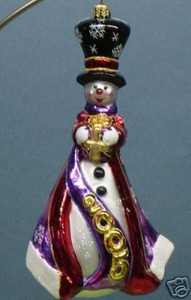 RADKO 1011963 FIVE & FROSTY - DATED 2005 - SNOWMAN (JJ)
