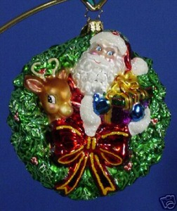 RADKO 1012965 ALL SMILES IN SIX - DATED 2006 - RETIRED ORNAMENT (N)