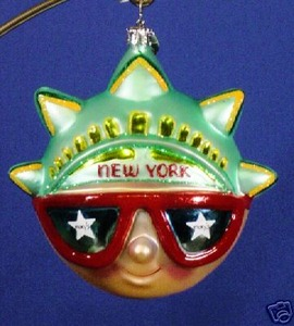 RADKO 3011119 NEW YORK VISION - DATED 2005 - RETIRED ORNAMENT (V)