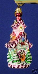 RADKO 1012588 SWEET RETREAT GEM - CANDYLAND HOUSE - RETIRED ORNAMENT (3)