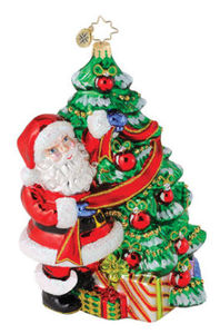 RADKO 1014807 SPRUCIN UP THE HOLIDAYS - GIFT STORE EXCLUSIVE ORNAMENT - RETIRED ORNAMENT (Q2)