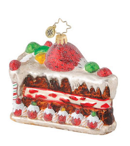 RADKO 1014847 SWEET TOOTH SURPRISE - CAKE - RETIRED ORNAMENT (Q5)