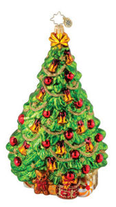 RADKO 1015225 BELLS A RINGING - LARGE TREE ORNAMENT - NEW 2010 - RETIRED (Q5)