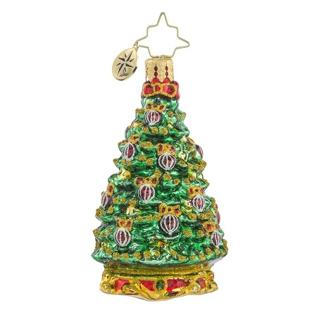 RADKO 1018164 NOBLE FIR GEM - TREE ORNAMENT - NEW 2016 (24)