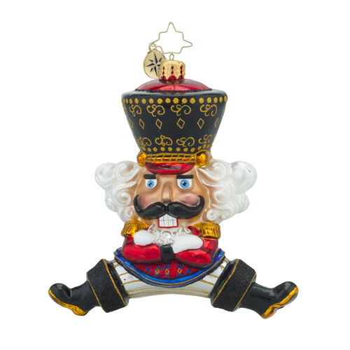 RADKO 1018231 BOLSHOI GUARD - DANCING RUSSIAN NUTCRACKER ORNAMENT - NEW 2016 (16 - 6)