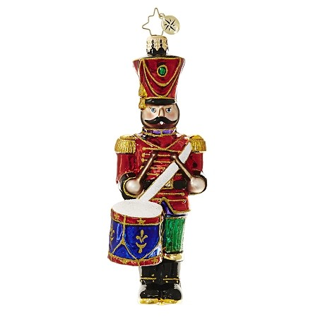 RADKO 1018536 LEADING THE WAY - DRUMMING NUTCRACKER ORNAMENT - NEW 2017 (17-3)