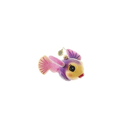 RADKO 1018645 MANDARIN BEAUTY - COLORFUL FISH ORNAMENT - NEW 2017 (17-4)