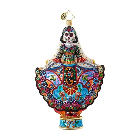 RADKO 1018719 LA NOVIA MUERTA - HALLOWEEN - DAY OF THE DEAD - BRIDE ORNAMENT - NEW 2017 (H8)