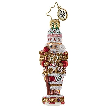 RADKO 1018744 CANDY CRACKER GEM - NUTCRACKER ORNAMENT - NEW 2017 (25)