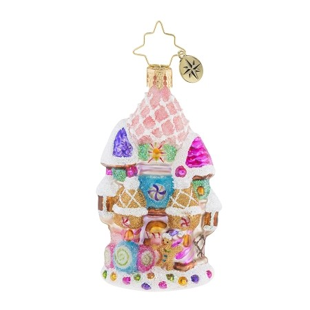 RADKO 1019188 CANDY CASTLE CHRISTMAS GEM - CANDY CASTLE ORNAMENT - NEW 2018 (26-4)