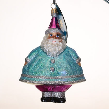 RADKO 3011571 MERRY MAXIMUS - SALES REP DESIGNER FOR A DAY ROB E. - EXCLUSIVE SANTA ORNAMENT - NEW 2007 (MAX)