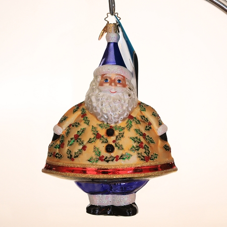 RADKO 3011554 MERRY MAXIMUS - SALES REP DESIGNER FOR A DAY SHELIA - EXCLUSIVE SANTA ORNAMENT - NEW 2007 (MAX)