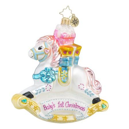 radko 1018421 rockin newborn babys first christmas ornament new 2016 16 11