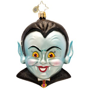 RADKO 1017254 COUNT SPOOKS A LOT - HALLOWEEN - DRACULA ORNAMENT - NEW 2014 (H5)