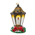 RADKO 1017617 CHRISTMAS LIGHT - LIMITED EDITION OF 1200 - CANDLE AND LAMP ORNAMENT - NEW 2015 (15-2)