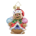 RADKO 1017717 GINGER SWEET CLAUS GEM  - GINGERBREAD MAN ORNAMENT - NEW 2015 (23)