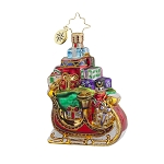 RADKO 1017724 SLEIGH PILE UP GEM - SLEIGH FULL OF GIFTS AND TOYS ORNAMENT - NEW 2015 (23)