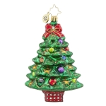 RADKO 1017766 SPRIGHTLY SPRUCE - BRILLIANT TREASURE - TREE ORNAMENT - NEW 2015 (15-9)
