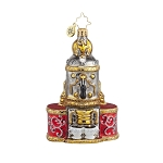 RADKO 1017774 BREWED TO PERFECTION - CAPPUCCINO MACHINE ORNAMENT - NEW 2015 (15-9)