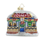 RADKO 1017872 COMFORT FOOD - CLASSIC DINER ORNAMENT - NEW 2015 (15-11)