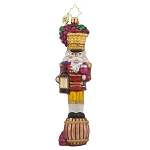 RADKO 1017887 VINEYARD GUARD RED - RED WINE - NUTCRACKER ORNAMENT - NEW 2015 (15-12)