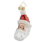 RADKO 1017916 MOON CREST NICK GEM - JEWELED SANTA ORNAMENT - NEW 2015 (23-1)