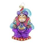 RADKO 1017932 ALI BABA - JEWELED MONKEY ORNAMENT - NEW 2015 (15-13)