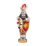 RADKO 1018005 SIR CRACKER - NUTCRACKER IN SUIT OF ARMOUR WITH SHIELD ORNAMENT - NEW 2015 (15-15)