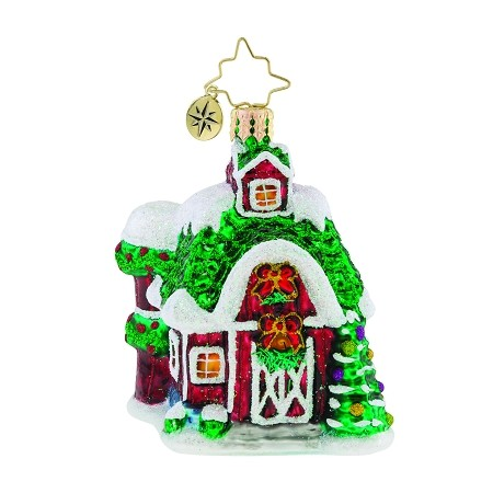 RADKO 1019192 FARM FIESTA GEM - BARN HOUSE ORNAMENT - NEW 2018 (26-4)