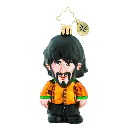 RADKO 1019345 KING GEORGE GEM - BEATLES COLLECTION - GEORGE HARRISON ORNAMENT - NEW 2018 (26-7)