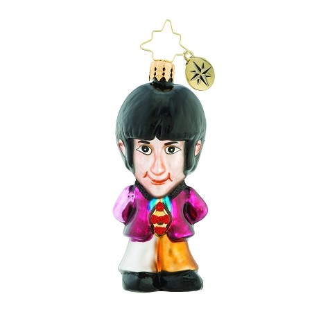RADKO 1019348 ON WINGS OF CHRISTMAS GEM - BEATLES COLLECTION - PAUL MCCARTNEY ORNAMENT - NEW 2018 (26-7)