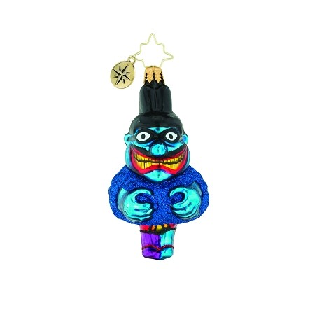 RADKO 1019350 EENIE MEANIE MINEY MO GEM - BEATLES COLLECTION - BLUE MEANIE ORNAMENT - NEW 2018 (26-7)