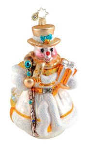 RADKO 1015247 NORDIC TRAVELER - SNOWMAN - LIMITED EDITION 525 - NEW 2010 (Q)
