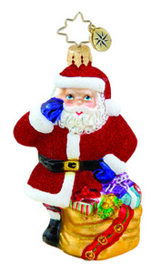 RADKO 1015640 CHRISTMAS CALLER GEM - SANTA - GIFTS - NEW 2011 (19)