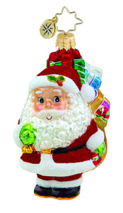 RADKO 1015628 WE JOLLY GENT GEM - SANTA - GIFTS - NEW 2011 (19)