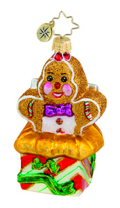 RADKO 1015643 SWEET SURPRISE GEM - GINGERBREAD MAN - NEW 2011 (19)