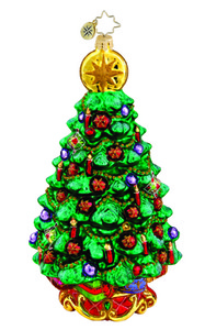 RADKO 1015805 TERRIFIC TANNENBAUM - LARGE TREE - NEW 2011 (11-4)
