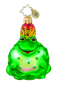 RADKO 1015646 PRINCELY PUCKER GEM - FROG WITH CROWN - NEW 2011 (19)