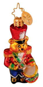 RADKO 1013775 TEDDY BEAR BEAT GEM - RETIRED ORNAMENT (14)