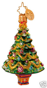 RADKO 1014261 GILDED GARLANDS GEM - TREE - RETIRED ORNAMENT (16)