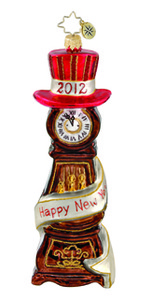RADKO 1015755 TIME TO CELEBRATE - DATED 2012 - CLOCK (11-3)