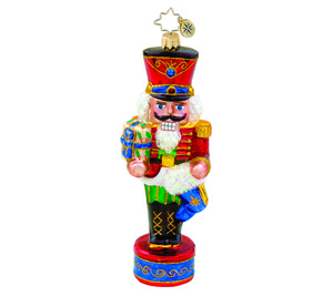 RADKO 1015684 FIRST OF MANY - NUTCRACKER ORNAMENT - NEW 2011 (11-7)