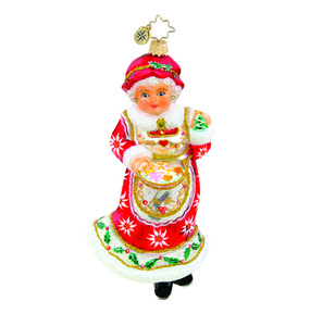 RADKO 1015603 HOLIDAY HOMEMAKER - MRS CLAUS - COOKIES - NEW 2011 (11-3)