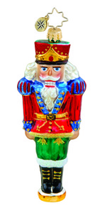 RADKO 1015686 PETITE POSE - NUTCRACKER ORNAMENT - NEW 2011 (11-8)
