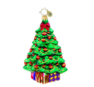 RADKO 1015687 PETITE PINE - TREE ORNAMENT - NEW 2011 (11-8)