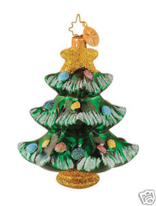 RADKO 1014436 TINY TANNENBAUM GEM - TREE - RETIRED ORNAMENT (17)