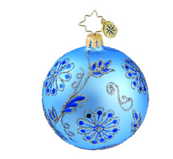RADKO 1015888 BAROQUE TAPESTRY MINI - VINTAGE BALL AND DROP COLLECTION - BALL ORNAMENT - NEW 2011 (11-14)